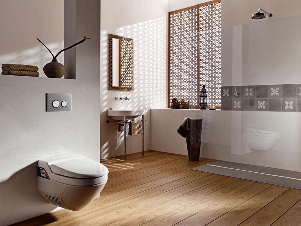 Toaleta, ktorá vás očistí vodou