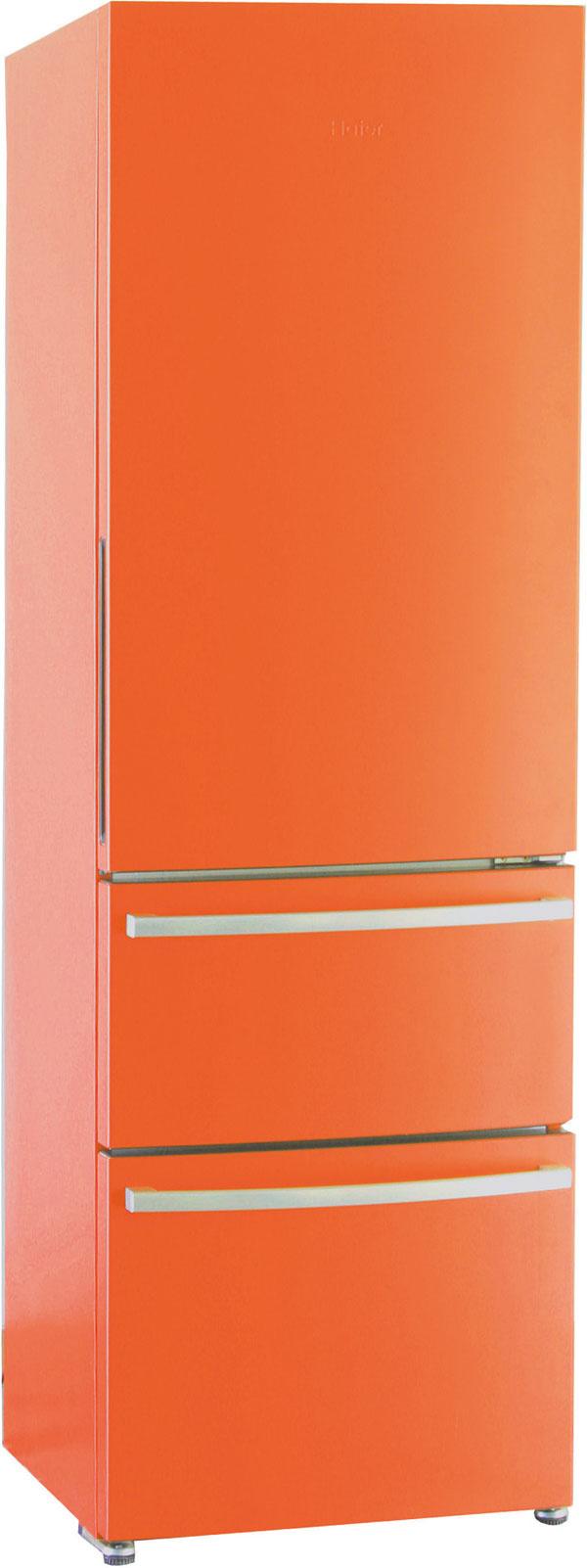 Kombinovaná chladnička Haier AFL 631 CB, energetická trieda A+, No Frost, antibakteriálny povrch, objem chladničky 308 litrov (230/78), Extra High LED displej, rýchle mrazenie, signalizácia zvýšenej teploty, LED vnútorné osvetlenie. Spotreba 317kWh/rok (0,87 kWh/deň), hlučnosť 42 dB. Cena 699 €. Predáva Planeo Elektro.