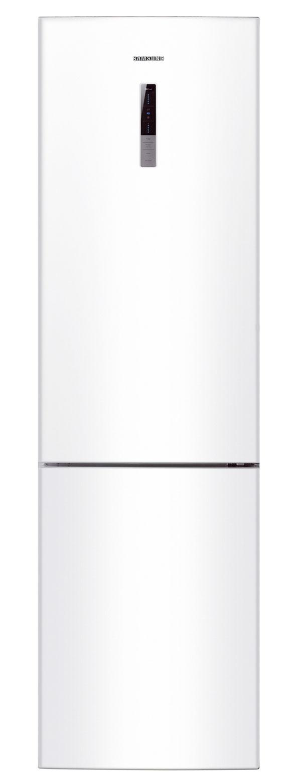 Kombinovaná chladnička Samsung RL56GSBSW sobjemom 356 litrov (249/107) venergetickej triede A+. Spotreba 348 kWh/rok (0,95 kWh/deň). Systém NoFrost scirkuláciou vzduchu vo viacerých smeroch pomocou technológie Multi-Flow, digitálna regulácia teploty, LED displej smodrým podsvietením, antibakteriálny povrch, systém ochrany zdravia Silver Nano™, zásuvka na uchovávanie čerstvého ovocia azeleniny, police ztvrdeného skla sochranou proti vytečeniu, prestaviteľné dverné priehradky, hlboký držiak na fľaše, plastová polička na víno, priehradka na mliečne výrobky, mraznička so štyrmi zásuvkami, invertorový kompresor, LED vnútorné osvetlenie, systém otvárania dvier Easy Open. Hlučnosť 41dB. Odporúčaná cena 719 €.