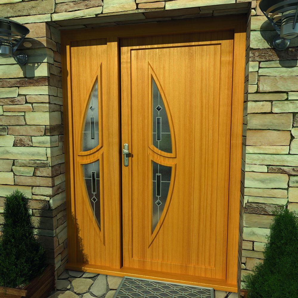 Extra hrubé dvere ako štandard
