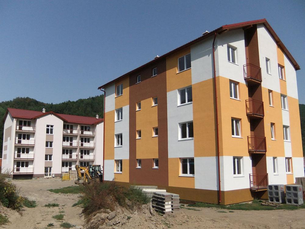 Obytný komplex z VELOXu v Hodruši-Hámroch