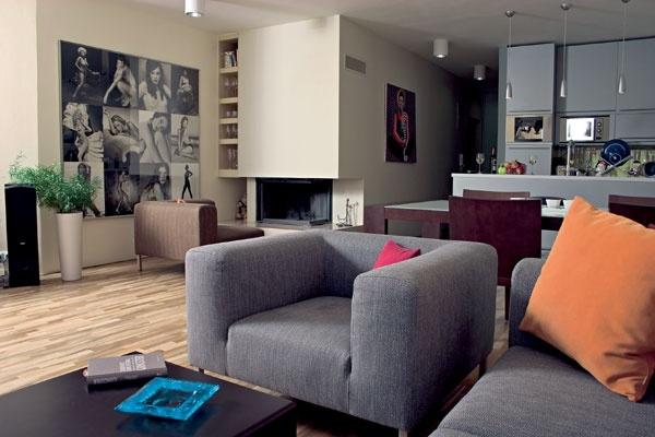 Inšpirácia: obývacia izba◦sivá◦textil
