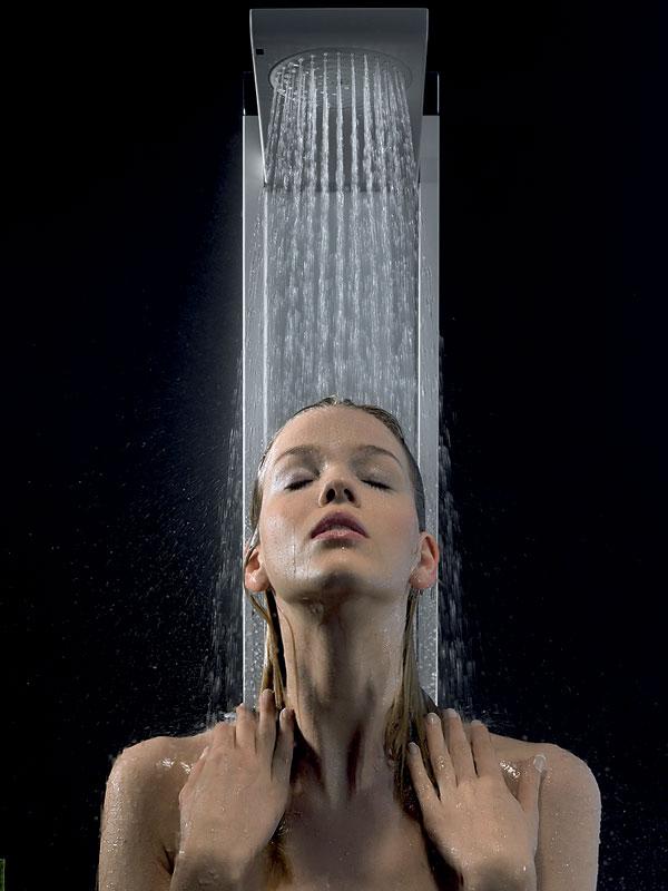 """Vodná masáž """"na stojáka"""""""