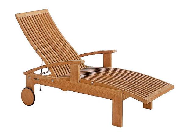 Ležadlo ztíkového dreva je klasikou vzáhradnom nábytku, ktorá odoláva módnym vlnám. Vaše vnúčatá môžu po vás zdediť okrem iného aj takýto záhradný nábytok abude im slúžiť ešte veľa rokov.