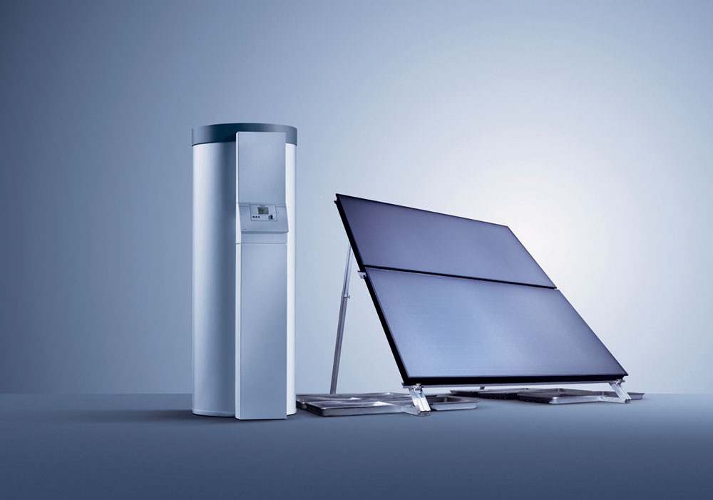 Aktívne využitie slnečného žiarenia by malo byť samozrejmou súčasťou systému ohrevu vody a vzduchu v nízkoenergetických domoch.