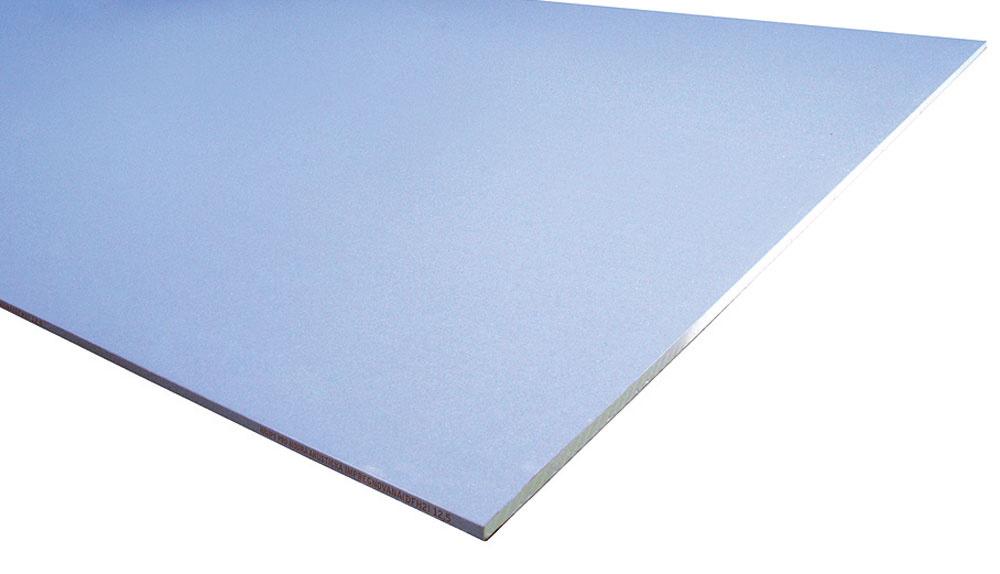 Modrá akustická impregnovaná doska Rigips zaistí ticho už aj v kúpeľni. Spájajú sa v nej totiž tri stavebné požiadavky – dobré akustické vlastnosti, požiarna odolnosť aj impregnácia do vlhkého prostredia. Doska MAI (DFH2) sa dodáva s hrúbkou 12,5 mm a dĺžkou 2 m.