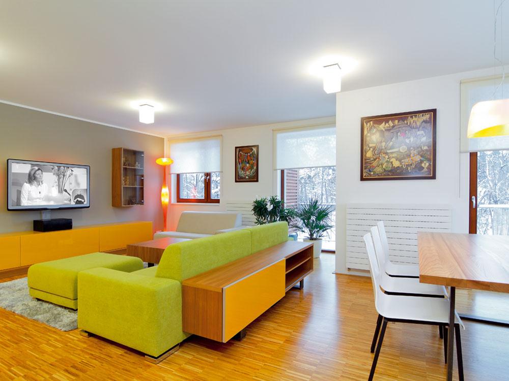 Útulný domov v jemných farbách