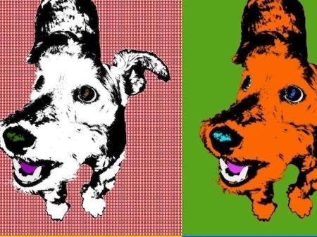VÁŠ TIP: Výroba obrazu vo warholovsko-lichtensteinovom štýle
