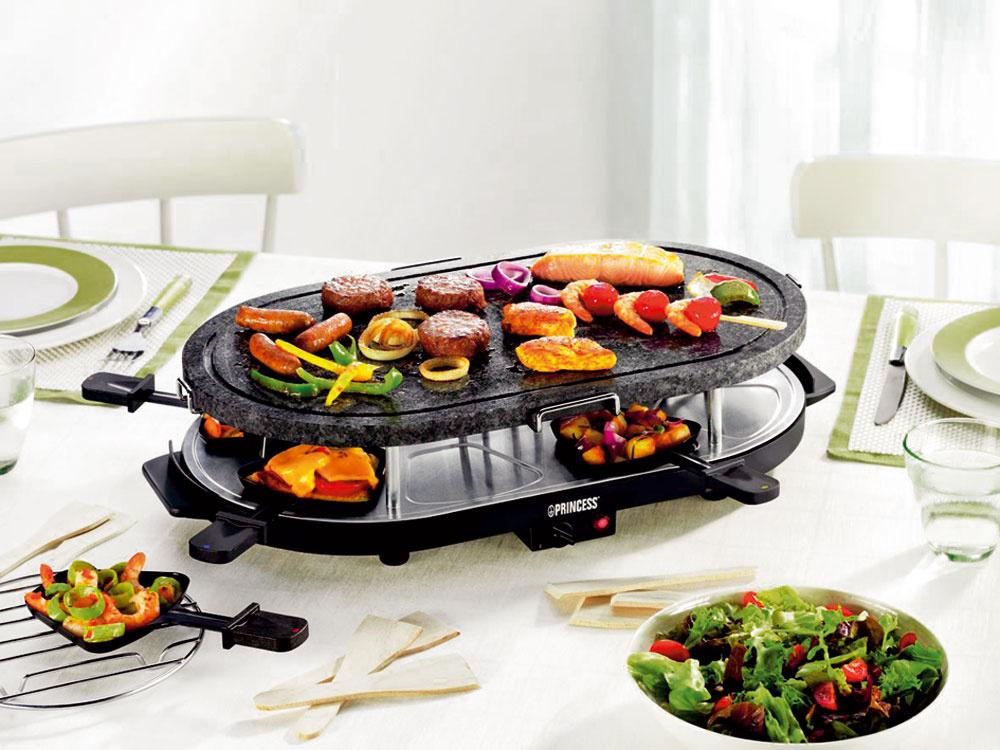 Raclette grily a fondue v kuchyni