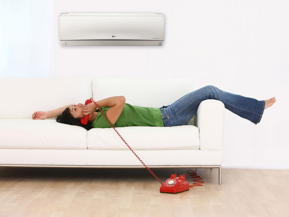 Klimatizácia LG Inverter v zime lacno kúri, ušetrí tisíce korún