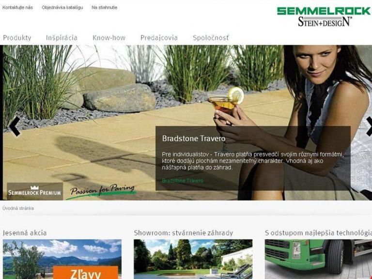 Semmelrock spustil novú internetovú stránku