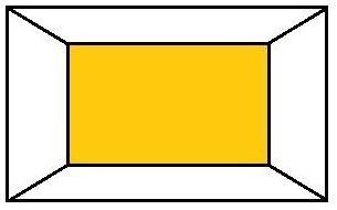 …ak chcete miestnosť opticky skrátiť…