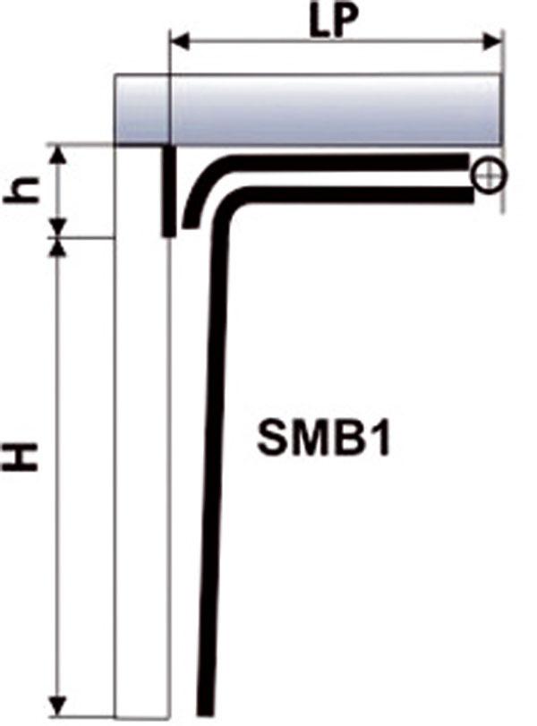L max. = 3 500 mm H max. = 2 500 mm h max. = 100 mm