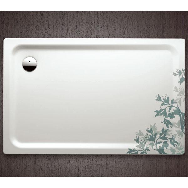 Nežné kvety v modernej kúpeľni