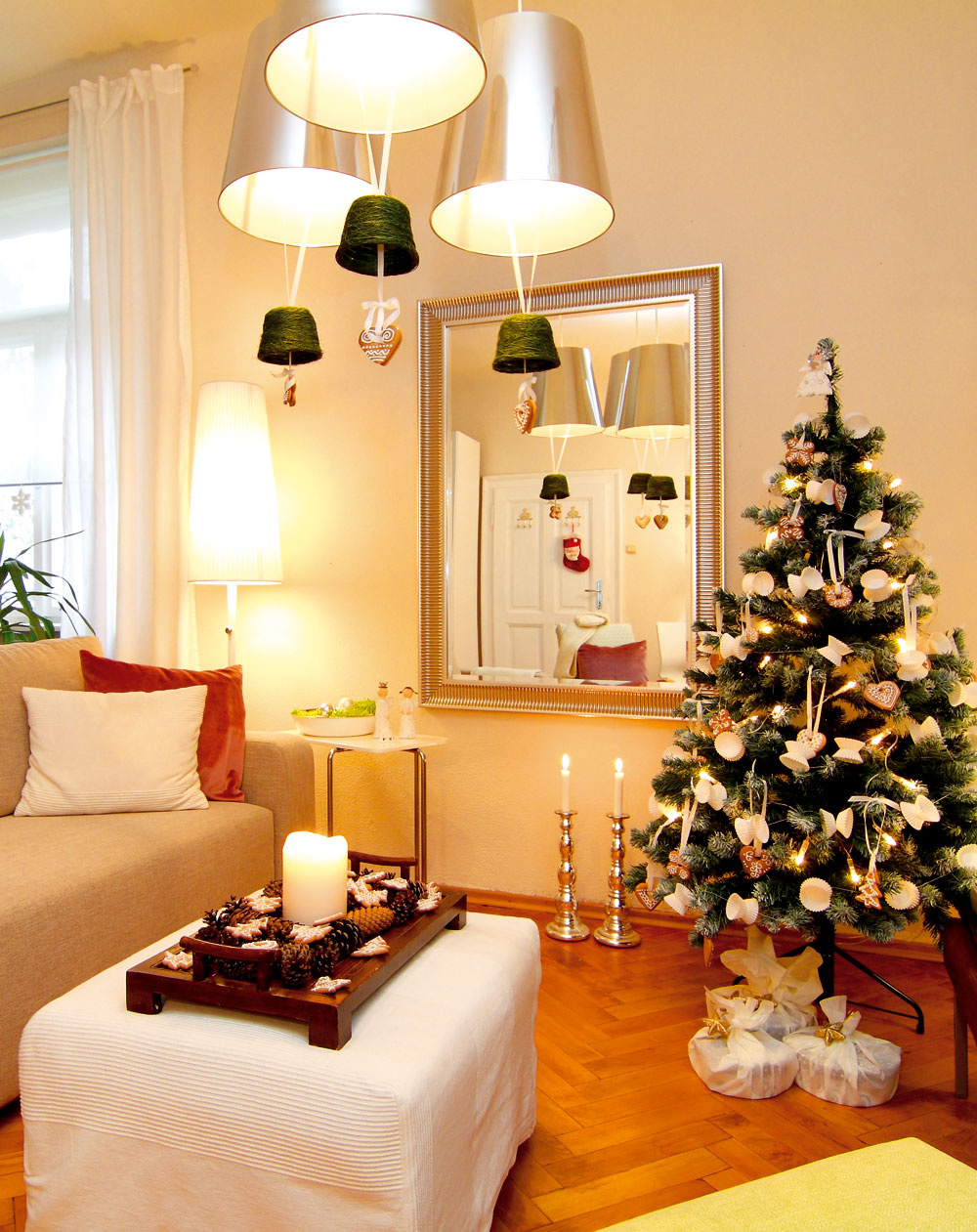 Na to, aby byt dýchal pokojnou atmosférou Vianoc, stačí málo.