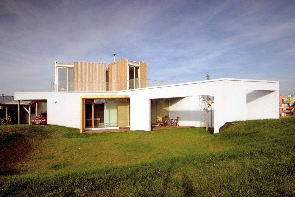 Architektúra Jana Klempířa ajej subtílnosť, elegancia ačistota objemového konceptu