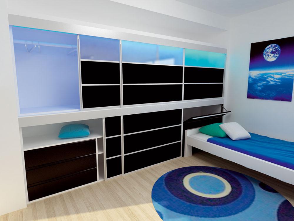 Návrh detskej izby očami mladého absolventa interiérového dizajnu
