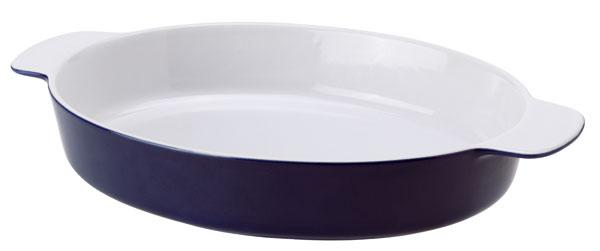 Kameninová zapekacia misa Senior, rozmery: 32 × 26 cm. Cena 9,99 €. Predáva IKEA.