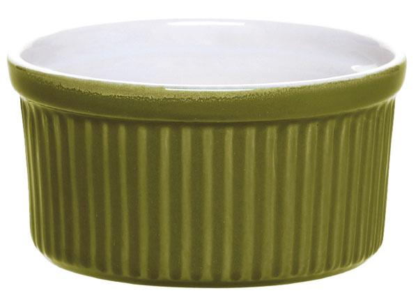 Súprava keramických nádob na pečenie Oliva od firmy Emile Henry, pekáč na lasagne (33,5 × 22,5 cm), koláčová forma (priemer 26 cm), 2 × ramequin (malá miska na zapekanie spriemerom 9 cm). Technológia Ceradon zaručuje, že riad je odolný proti nárazu apoškrabaniu. Vhodné do mikrovlnky, mrazničky aj umývačky. Cena 57,50 €.
