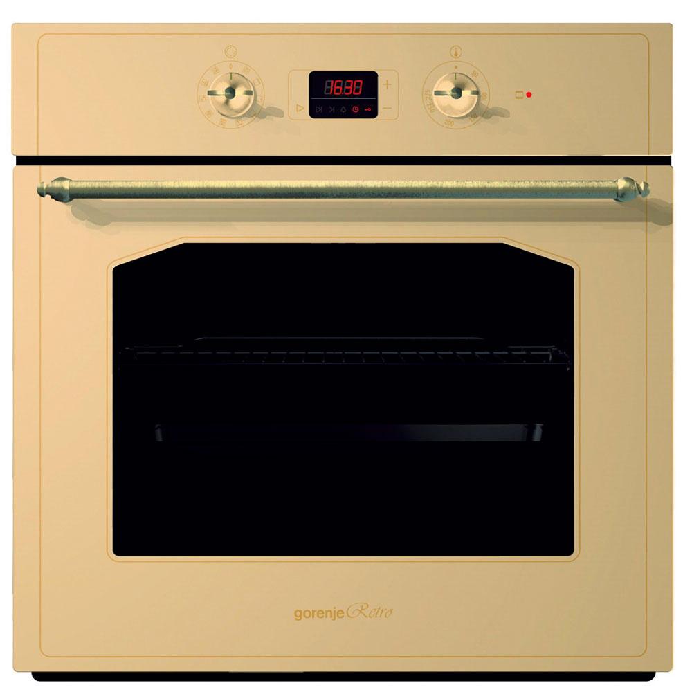 Multifunkčná rúra Gorenje BO 7349 RW vrustikálnom štýle ponúka 9 režimov pečenia. Dĺžka pečenia sa dá nastaviť na dotykovom paneli, ktorý ponúka tri možnosti – čas trvania aukončenia pečenia aodložený štart. Vnútro aplechy sú zEcoClean smaltu, ktorý odráža teplo azefektívňuje pečenie, čím šetrí energiou auľahčuje čistenie pomocou funkcie AquaClean. Cena 599 €.