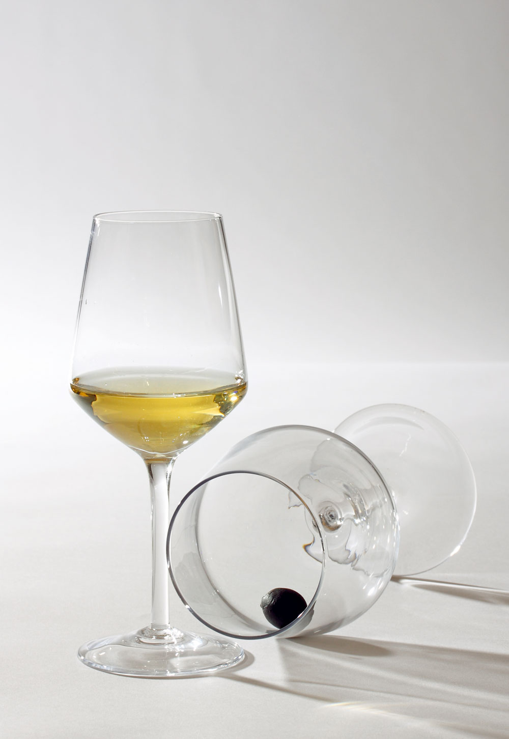 Poháre IKEA 365+ Ivrig na červené víno sobjemom 48 cl, na biele 26 cl. Cena 1,99€/ks. Predáva IKEA