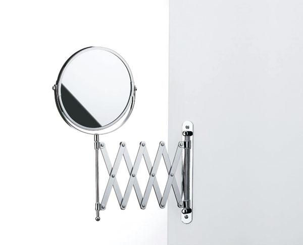 Keď sa treba lepšie prizrieť – obojstranné zrkadlo Kela, z druhej strany zväčšovacie. 26€, Nábytok Galan