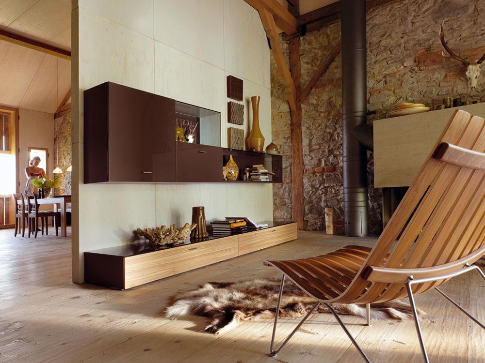 Inšpirácie na zariadenie interiéru dreveným nábytkom