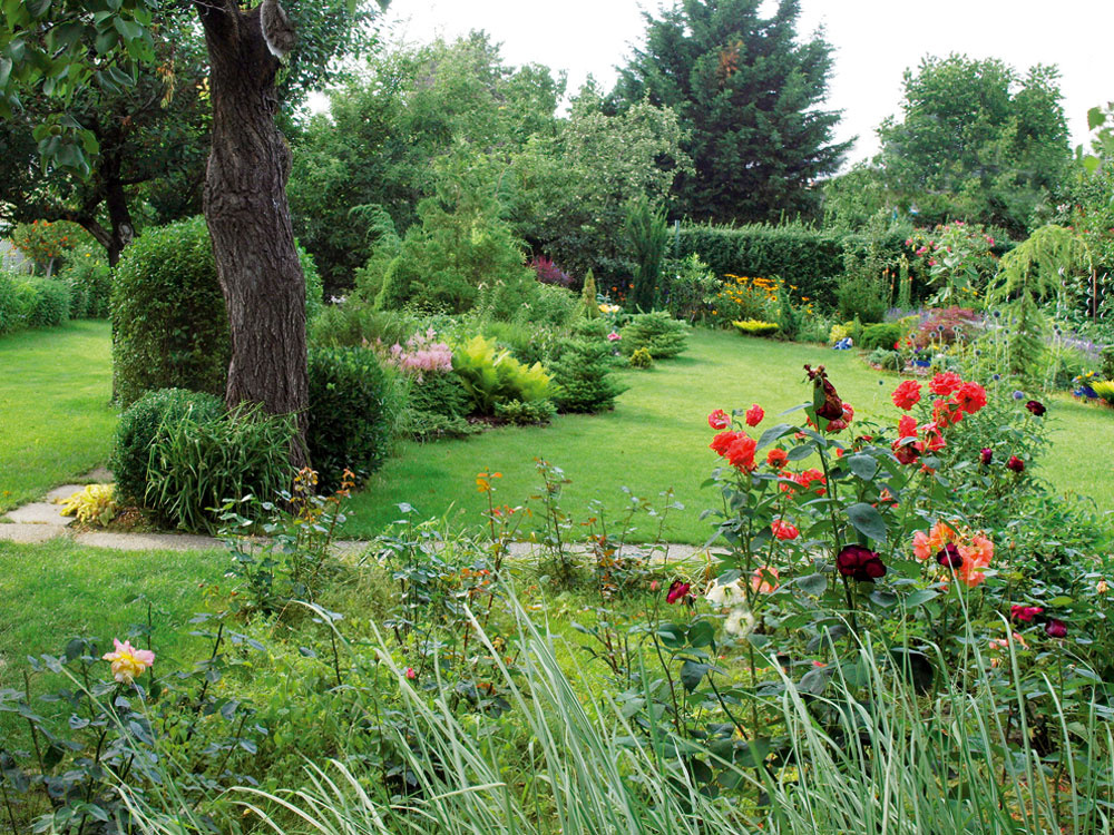 Záhrada plná príbehov