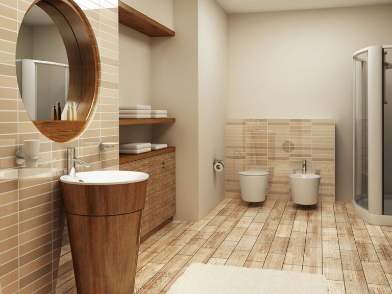 Inšpirácia: Kúpeľňa v dreve zakliata
