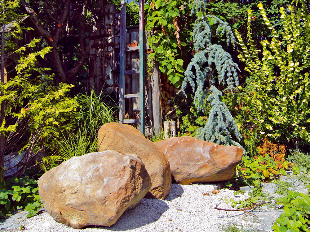 Záhrada s tématickými zákutiami
