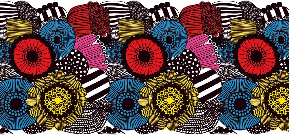 Abstraktné kvety a provokujúca farebnosť jedného z mnohých vzorov tapiet značky Jannelli&Volpi ukazujú na istú farebnú neviazanosť, ktorá môže osviežiť interiér. Keď nie výstredným nábytkom, tak aspoň originálnymi tapetami!