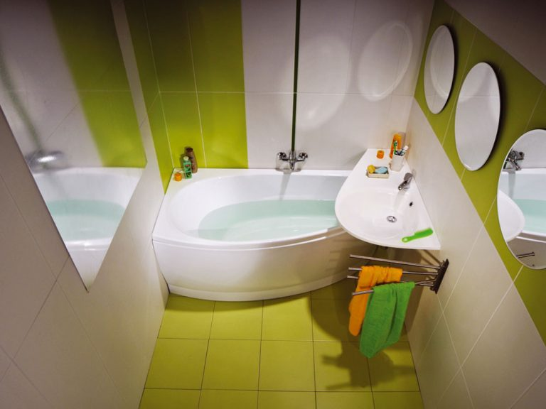 Keď má kúpeľňa menej ako 5 m²