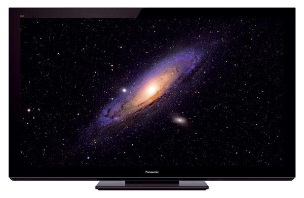 3D televízor Panasonic neoPlasma VT30 suhlopriečkami 106, 127, 139 a165 cm, spĺňa požiadavky certifikácie THX pre 2D aj 3D obraz. Vzákladnej výbave dvoje 3D okuliare, prehrá komprimované formáty DivX, MKV, MP3, DivX HD aJPEG, funkcia VIERA Connect sprístupňuje internetové služby aSkype na video telefonovanie. Tenký panel 3 cm, technológia 600 Hz sinteligentným spracovaním obrazu, sýtosť čiernej farby dosahuje takmer nekonečné hodnoty (Infinite Black Pro). Priemerná spotreba dosahuje hodnoty LCD televízorov.