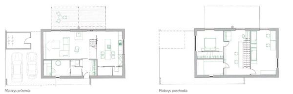 Montovaný dom neďaleko slovenských hraníc