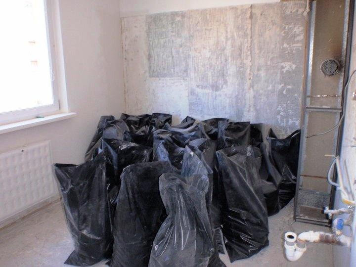 Kuchyňa počas rekonštrukcie