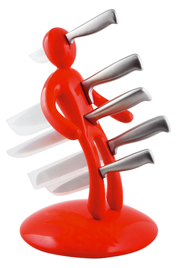 Stojan na nože Woodoo, cena 165,64 €, Nábytok Galan