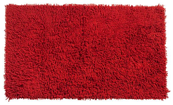 Nabite sa energiou pri rannej hygiene. Kúpeľňová predložka Duke, rozmery 50 × 90 cm, materiál 100%-ná bavlna, pranie na 30 °C, cena 10,99 €, Kika