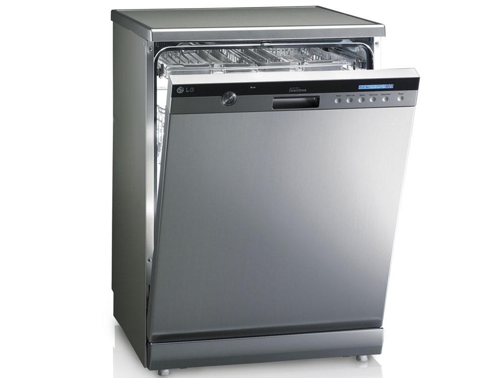 Umývanie stechnológiou TrueSteam™ je tiché (hlučnosť pri prevádzke neprekročí 45dB) aekologické – lepšie výsledky než vkonvenčných umývačkách sa totiž dosahujú za kratší čas asnižšou spotrebou vody aj elektrickej energie. (Na jeden umývací cyklus spotrebuje nová umývačka LG iba 0,92kWh a9 litrov vody.)