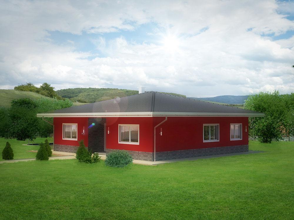 Projekt rodinného domu za 1 €