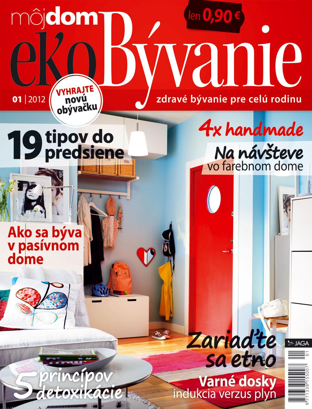 Nové číslo časopisu Môj dom ekoBývanie 01/2012 už v predaji