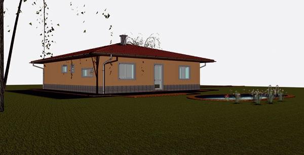 Službu typizovaných rodinných domov ponúka výrobca stavebných materiálov Porfix od apríla tohto roku. Jej cieľom je priniesť zákazníkovi úsporu už vzačiatočnej fáze výstavby. Keďže ide ovýrobcu, nezabezpečia vám stavbu, ale každému záujemcovi Porfix ponúka okrem možnosti získať projekt za 1 € aj sprostredkovanie nákupu materiálu cez predajnú sieť stavebnín, bezplatné založenie stavby, bezplatné poradenstvo počas celého procesu výstavby, možnosť bezplatného zaškolenia murárov priamo na stavbe amožnosť požičať si profesionálnu pásovú pílu za symbolický poplatok. Kzákladnému projektu za 1 euro je potrebné doobjednať situačné riešenie, ktoré zohľadní všetky špecifiká stavebného pozemku – za 180 eur. Úspora pre stavebníka vporovnaní sbežným katalógovým projektom predstavuje 500 – 700 eur. Ponuka firmy je zatiaľ obmedzená na tri rodinné domy venergetickom štandarde B. Počet projektov však plánujú rozšíriť avenovať pozornosť aj nízkoenergetickým domom. PORFIX – Bungalov je 116 700 €
