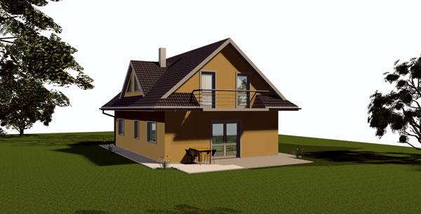 Odhadovaná cena domu na kľúč pri projekte PORFIX – Bungalov je 116 700 € (obr. vľavo), pri projekte PORFIX – Elegant 110 600 €  apri projekte PORFIX – Comfort 151 700 €.