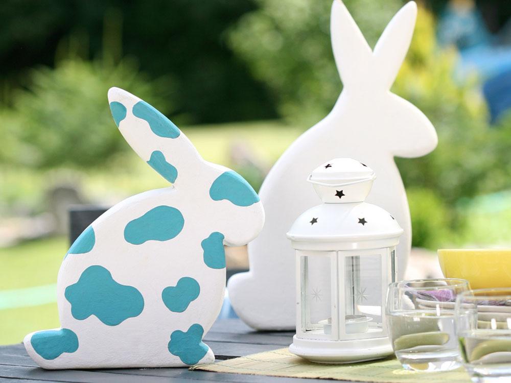 Vyrobte si veselé veľkonočné zajačiky