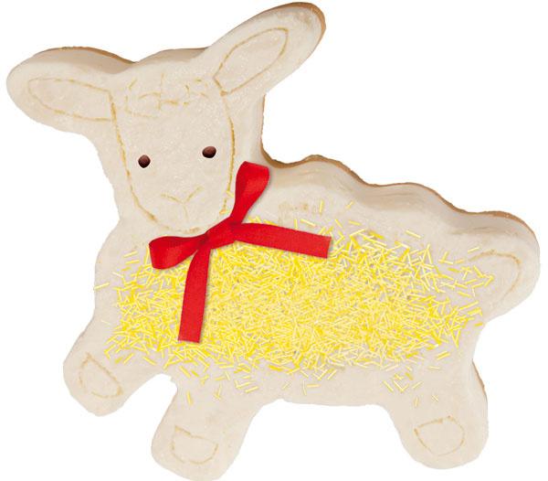 Forma na pečenie avykrajovač Delícia – veľkonočná ovečka 623342. Cena 12,70 €. Predáva Tescoma.
