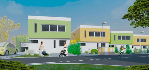 Komfortné a originálne bývanie aj v radových domoch