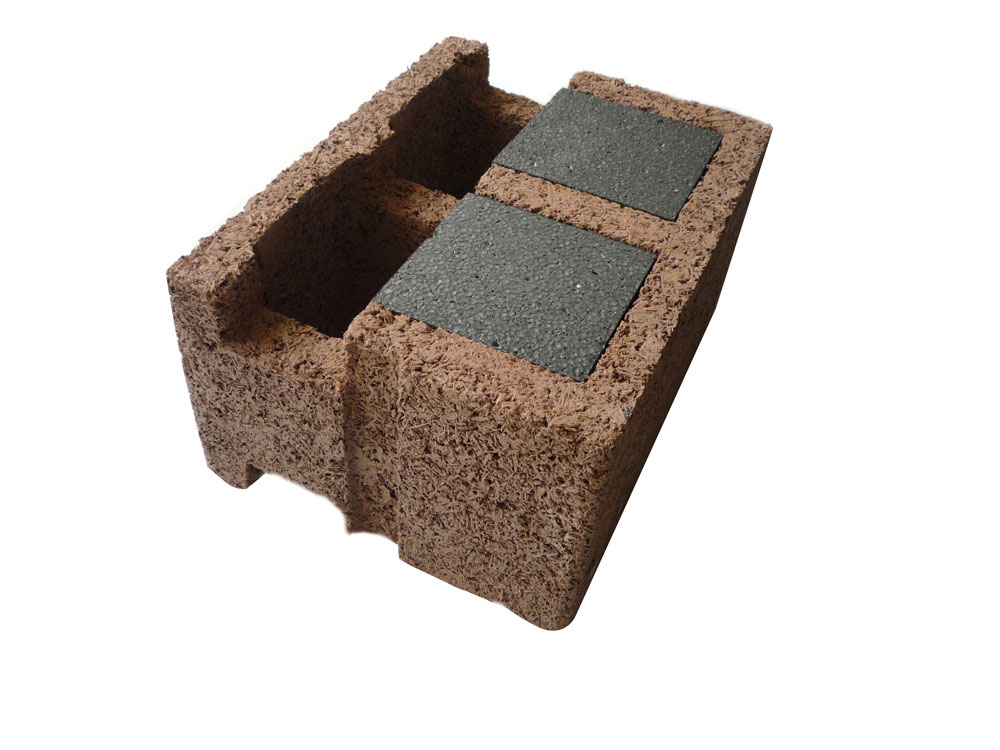Steny z ekologického materiálu