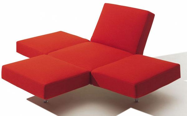 Sedačka ideálna do otvorenej dispozície. Je iba na vás, zktorej strany si sadnete. Možností je veľa.