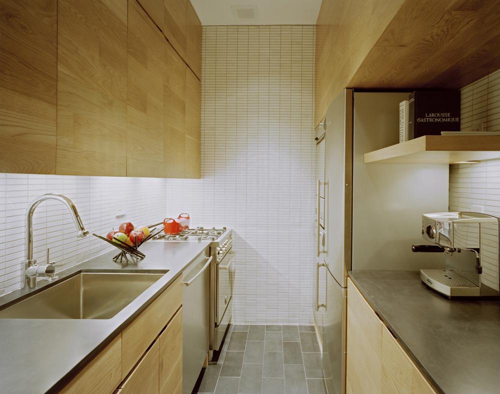 Malá kuchyňa, v ktorej nájdete všetko potrebné.