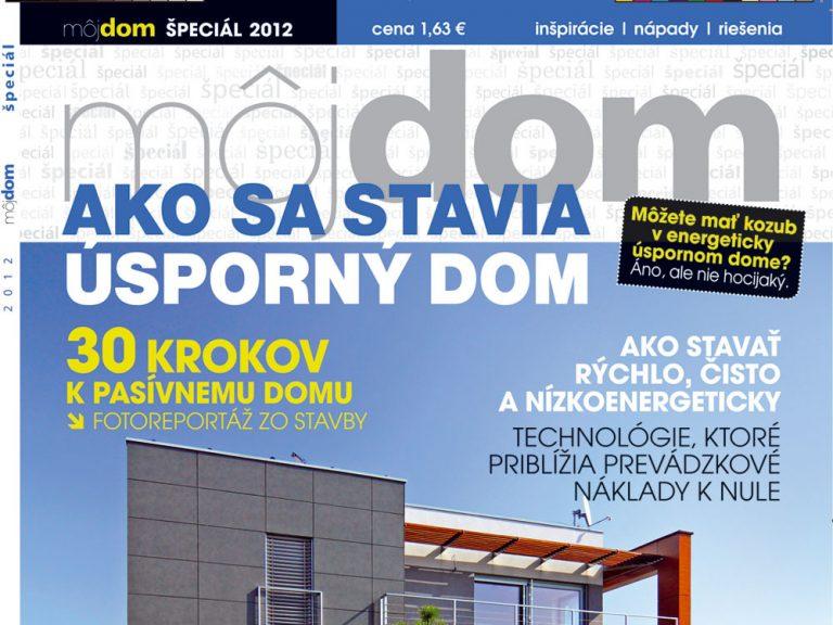 Časopis Môj dom špeciál 2012 v predaji