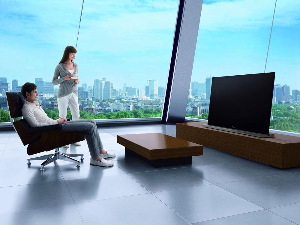 Full HD 3D televízor Sony Bravia HX925. Inteligentné LED podsvietenie dodá 55-palcovej obrazovke vysoký kontrast v2D, aj v3D formáte. Technológia Motionflow XR 800 dosahuje 800 snímok za sekundu (ostrejšie detaily čiplynulosť pohybu aj pri najrýchlejšom akčnom filme). Vylepšený Full HD 3D obraz sminimálnym rozmazaním, kvalitný zážitok aj pri televíznom vysielaní vštandardnom rozlíšení (nový obrazový procesor vylepšuje vstupný signál, dokáže vylepšiť nízku kvalitu obrazu zwebu). Praktické využitie internetu priamo na obrazovke atechnológie na úsporu energie. Cena 2 899,99 €.